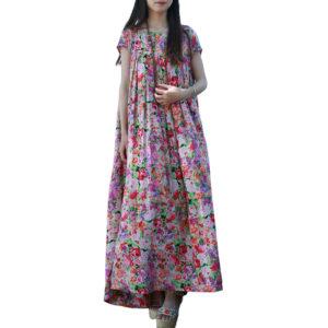 ... patchwork Cotton Dresses vintage plaid Plus Size O-neck Full Sleeve  loose autumn Vestidos G163Y036.  107.69  70.00. Select optionsSelect  options · Sale 20ebd75d9865